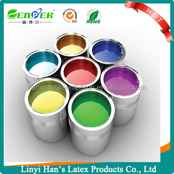 Han's High Quality outside wall coating exterior house paint colors