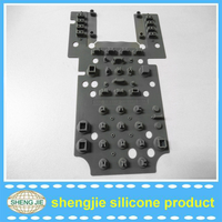 Wholesale cheap price silicone push button /flexible silicone buttons with low price