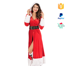 Alibaba Facotry Unique Sexy Christmas Cheap Santa Costume
