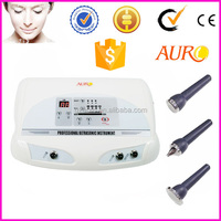 Au-8205 Best choice beauty machine with 1 mhz and 3 mhz ultrasound