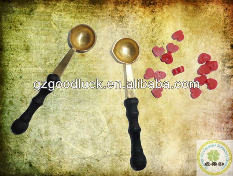 Sealing Wax Beads with Mini Melting Spoon For DIY