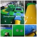 Aqua fun inflatable giant water park, inflatable water park games