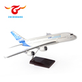 Airbus A380 resin model plane with stand good quality customized aircraft airplane model 18/37/48/50/73/120/500cm scale optoins