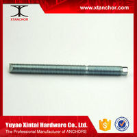 M16X200 carbon steel 5.8 grade C1035 Chemical Anchor Stud