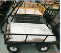 Durable steel wagon TC1840 four wheels