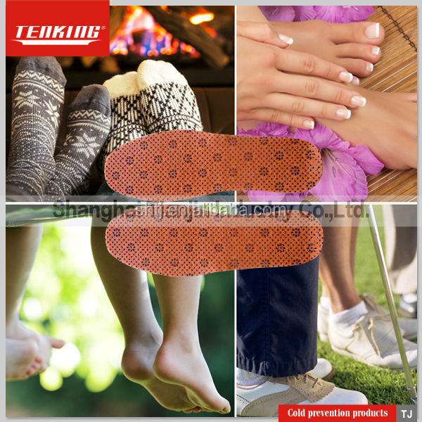 Foot-warming Insoles