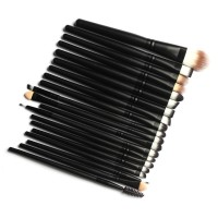 20 pcs Eyeshadow, Eyebrow, Eyliner Brush Set