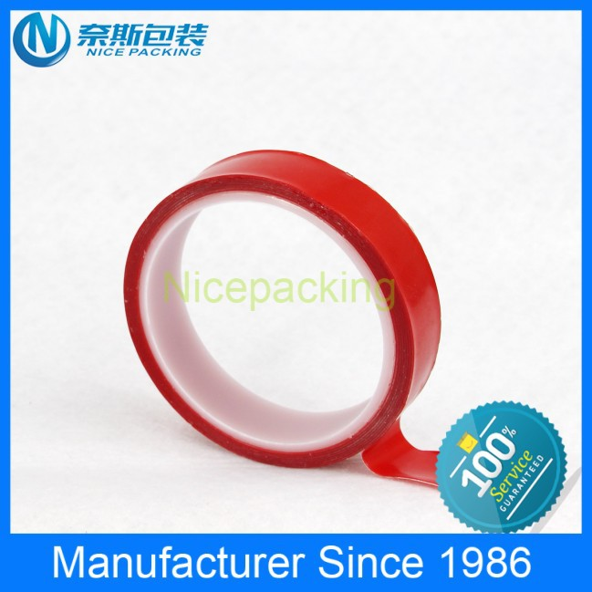 Strong rubber adhesive double sided adhesive strips