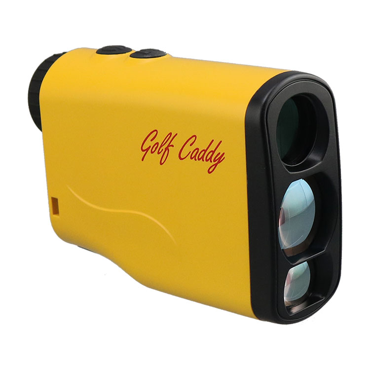 New jolt technology mini golf accessory 1000m laser rangefinder with golf course stick lock +slope compensation
