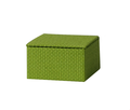 NAHAM office woven paper desk cosmetic organizer box