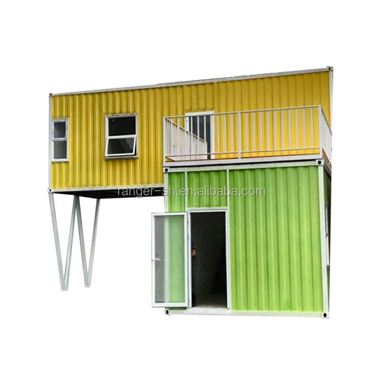 Factory price 20 ft new prefab modular container house 1 bedroom mobile home