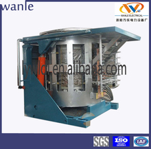 Power saving 3 ton electric induction industrial steel smelting equipment