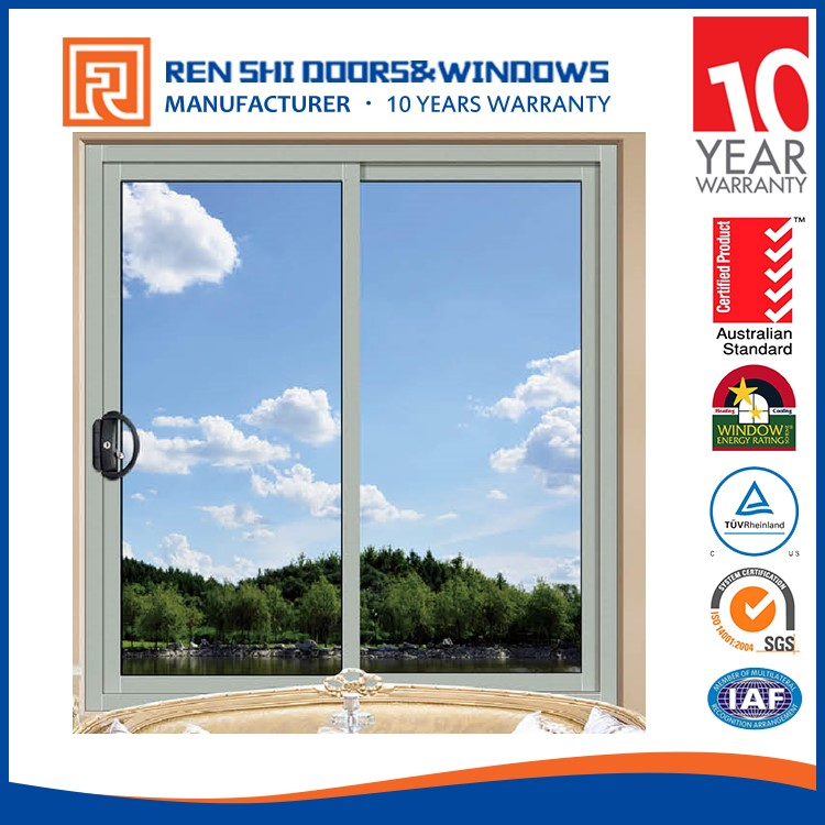 Bushfire Protection price of aluminium frame sliding window colored glass