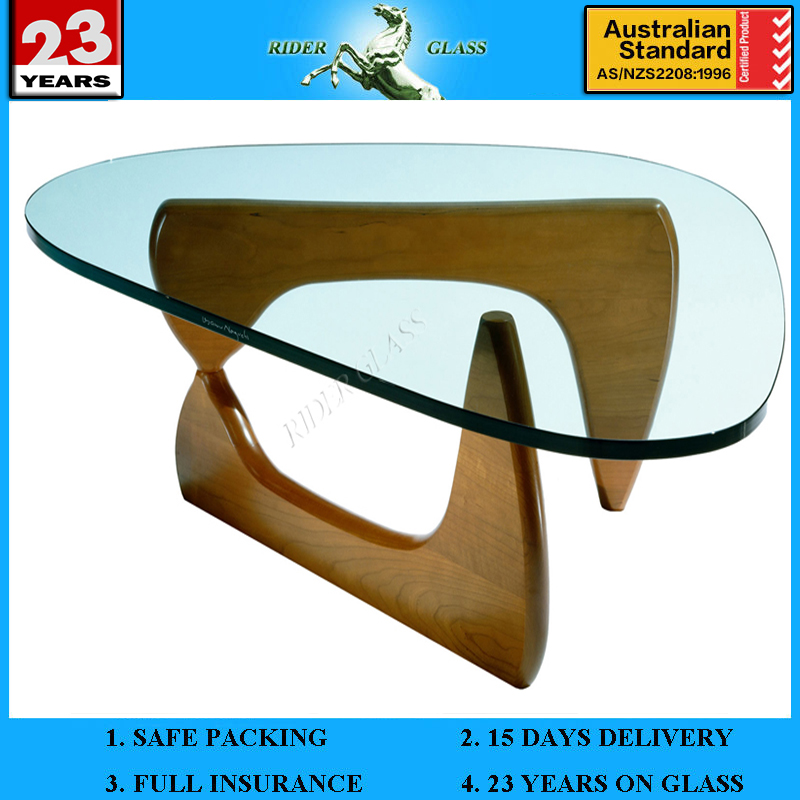 3-19mm Decorative Glass Table Top