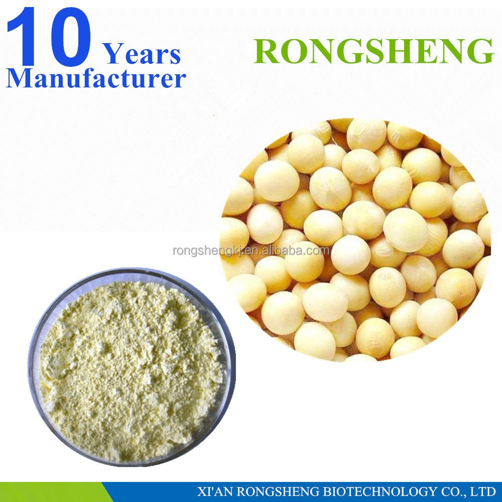GMP Manufactory organic soybean powder extract