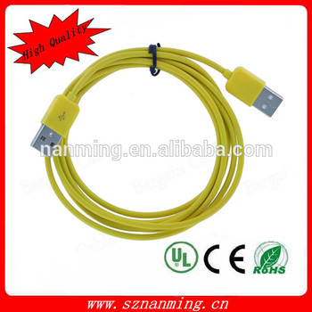 China Manufacturer Round wire usb chargrer cable