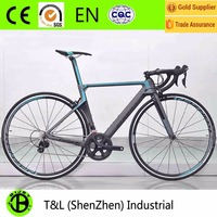 700c complete carbon racing road bike with light weight