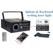 Hot selling animation text writing laser light party lighting