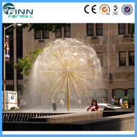 rolling ball water fountain