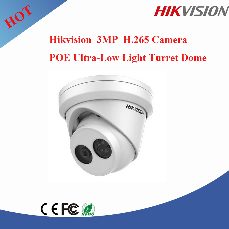 CCTV First brand Hikvision ip camera ir Turret 3mp h.265 shenzhen ip camera DS-2CD2335FWD-I