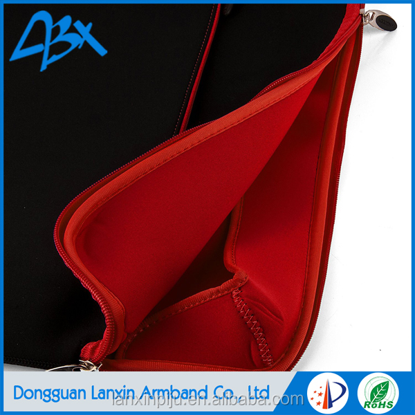 High quality neoprene laptop sleeve wholesale black color for 8.9 inch Tablet