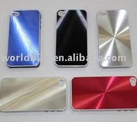 Aluminium Hard shiniing Case for Iphone4/4S
