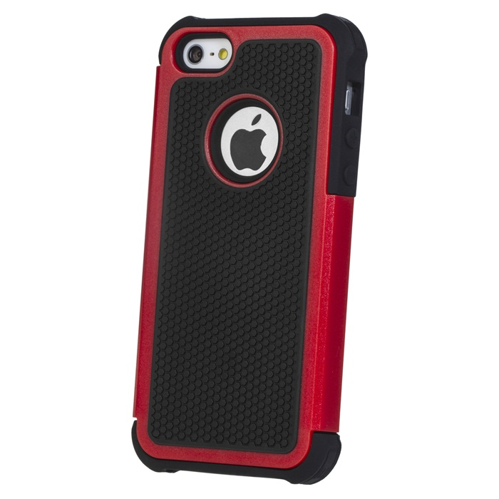 High Quality PC + Silicone Combo Case For iPhone 4 4G
