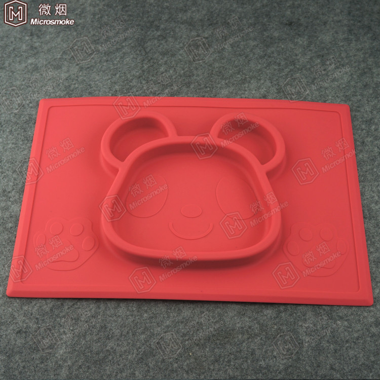 New Christmas gift silicone mat/mini place mat for babies kids children with suction cup