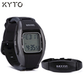 KYTO original 5.3KHz wireless heart rate monitor watch with belt
