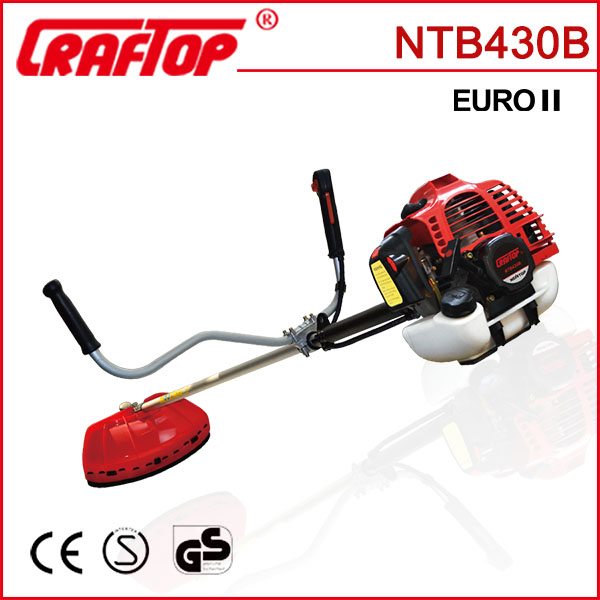 42.7cc Garden tools cg 430 brush cutter with CE certificate