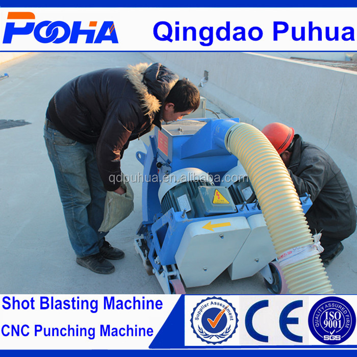 Concrete Bridge Surface Shot Blasting Machine