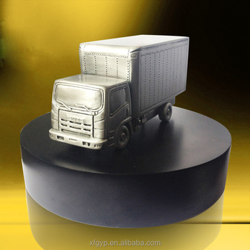 remote Car mode resin truck model trophy