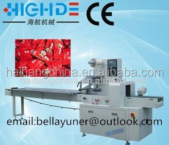 pillow type wholesale candy packing machine