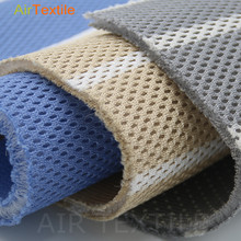 polyester 3D big hole spacer textile floor mats materials