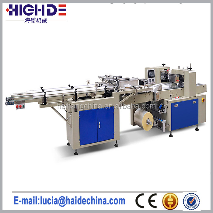 High Quality Disposable Plastic Cup Packing Machine Single or Two Rows Packaging Machinery