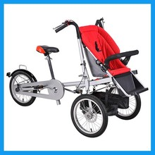 Quality folding bike child cart bicycle mother and child car