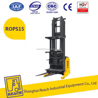 Excellent quality good design new condition electric pallet stacker