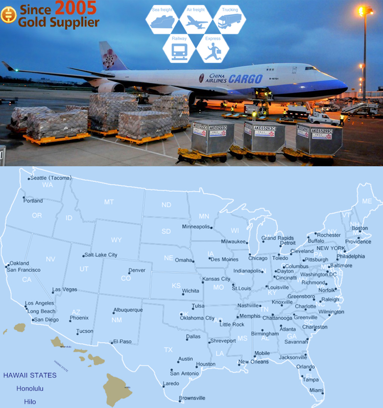 Air Freight Cargo Consolidation Shipping to Florida, US
