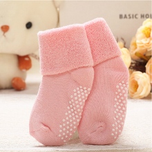 Bonypony good quality cotton terry warm winter baby socks