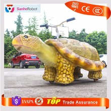 Fairground Playground Simulator Turtle battery operated animal ride