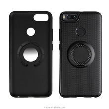 Phone Case for Xiaomi Mi A1 Car Holder Stand Magnetic Suction Bracket Finger Ring Cover