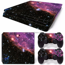 colorful vinyl sticker for ps4 slim console decal skin for playstation 4 slim