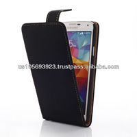 Ultra Slim Leather Case For SUMSUNG S5 UP and Down Open