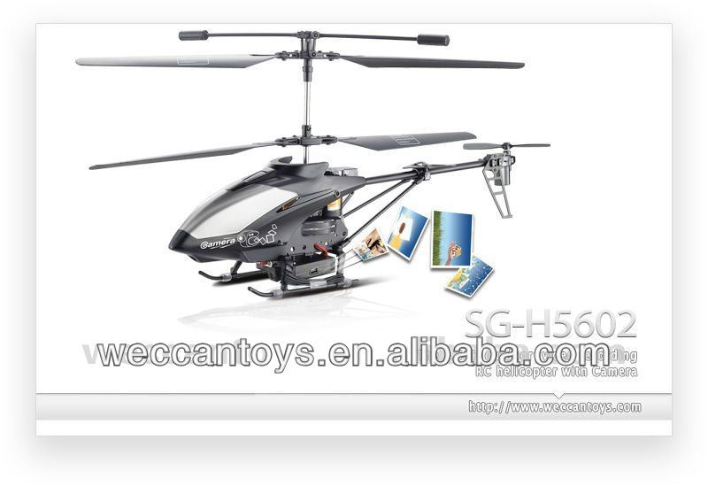 3.5CH Indoor/Outdoor Camera helicopter in Radio Control with Gyroscope