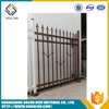 New product outdoor decorative wrought iron fence / steel fence