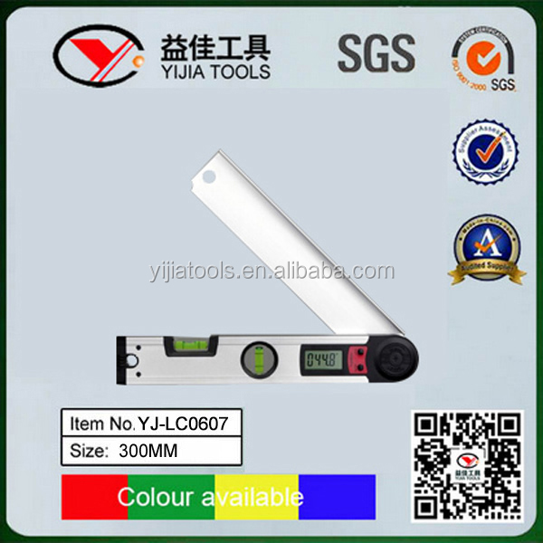 Competitive prices high quality LCD Digital Angle Spirit level YJ-LC0607