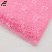 High-Tech Custom Colors Embroidery Soft Pink Warm Bird Eye Cloth Fabric,3D Applique Mesh Net Tulle Fabric