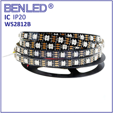 Smart Led WS 2812B WS2812 SMD 5050 Pixel 5V Addressable 2812 Running RGB Flexible LED WS2812B IC Strip Light