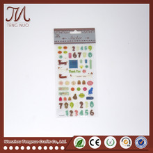 OEM Factory Personalized Soft or Hard Label Stickers Clear Epoxy Stickers For Kids