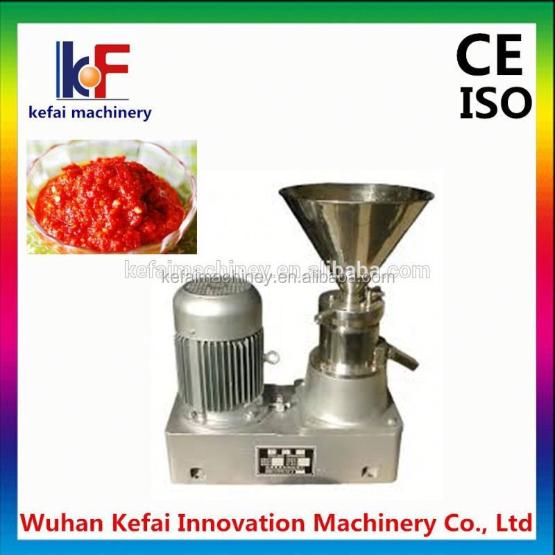2015 food making machine Manufacturer fruit jam grinding machine